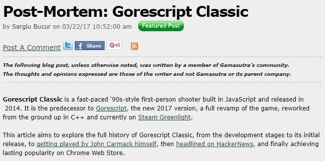 Gamasutra GS