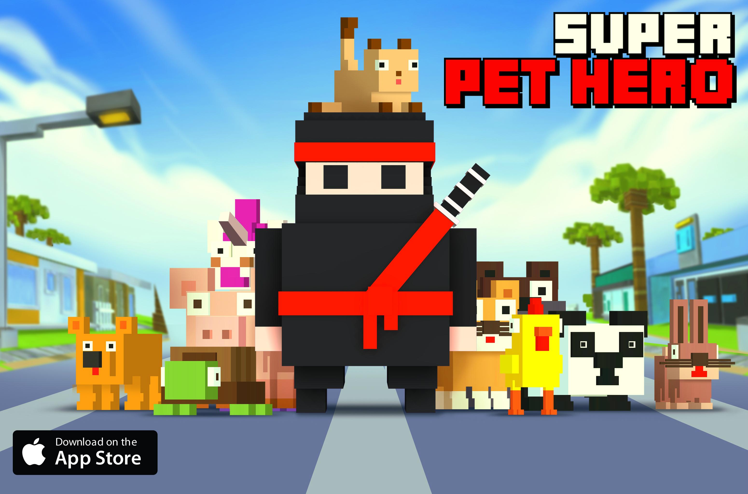 Super Pet Hero promo2 wide AppSt