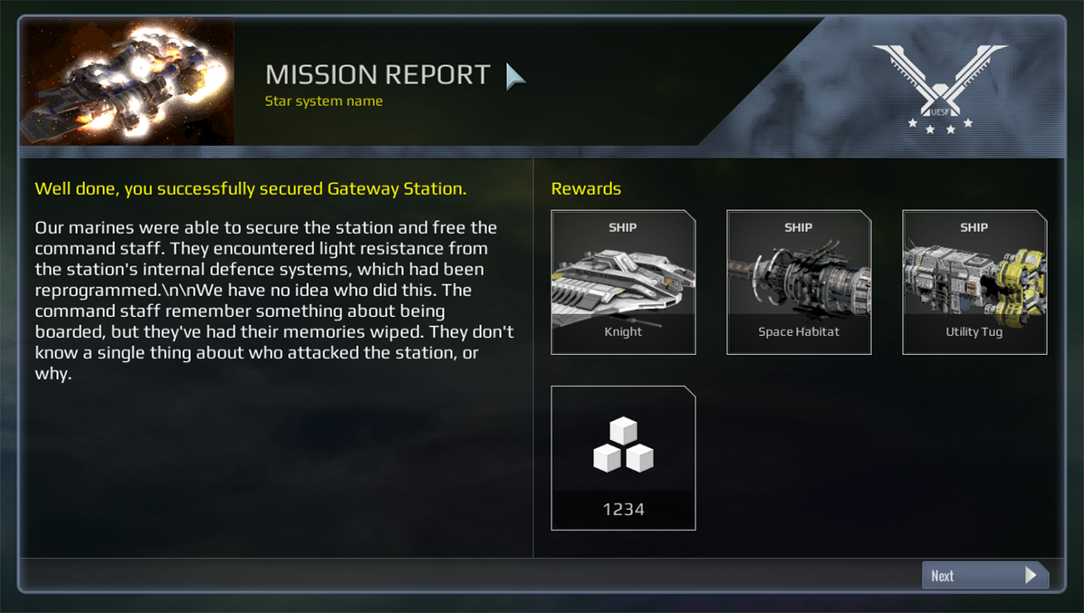 Post Mission Briefing