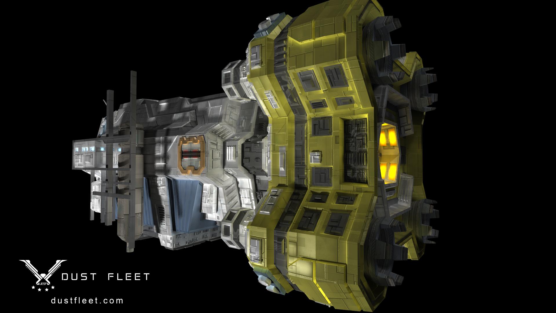Utility Ship render