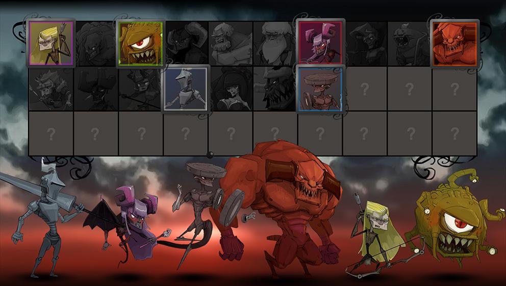 Bounty battle roster