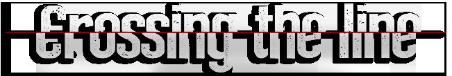 crossing the line logo 1