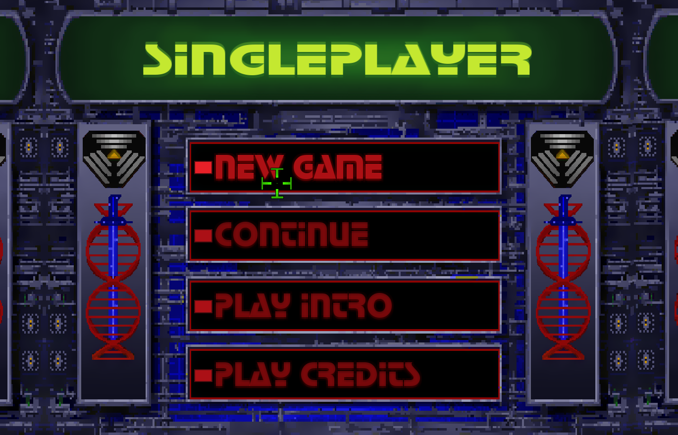 Singleplayer Page