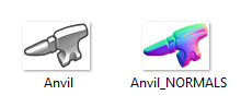 anvil and normals