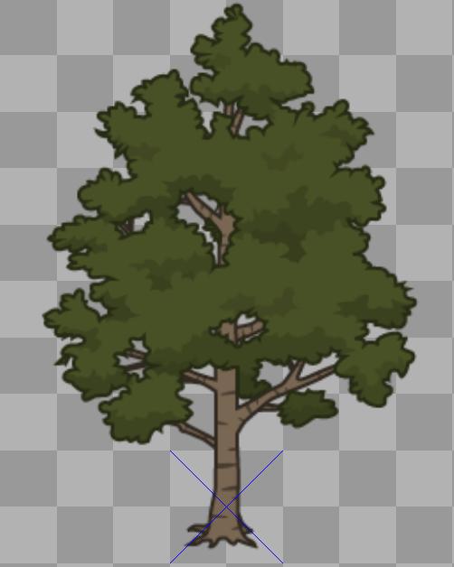 bull oak tree