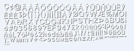 libgdx default font arial 15