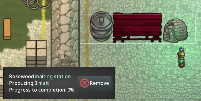 malting station