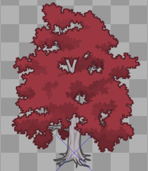 red emperor tree