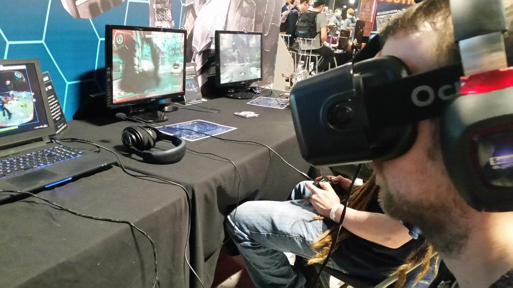 Beyond Flesh and Blood on Oculus