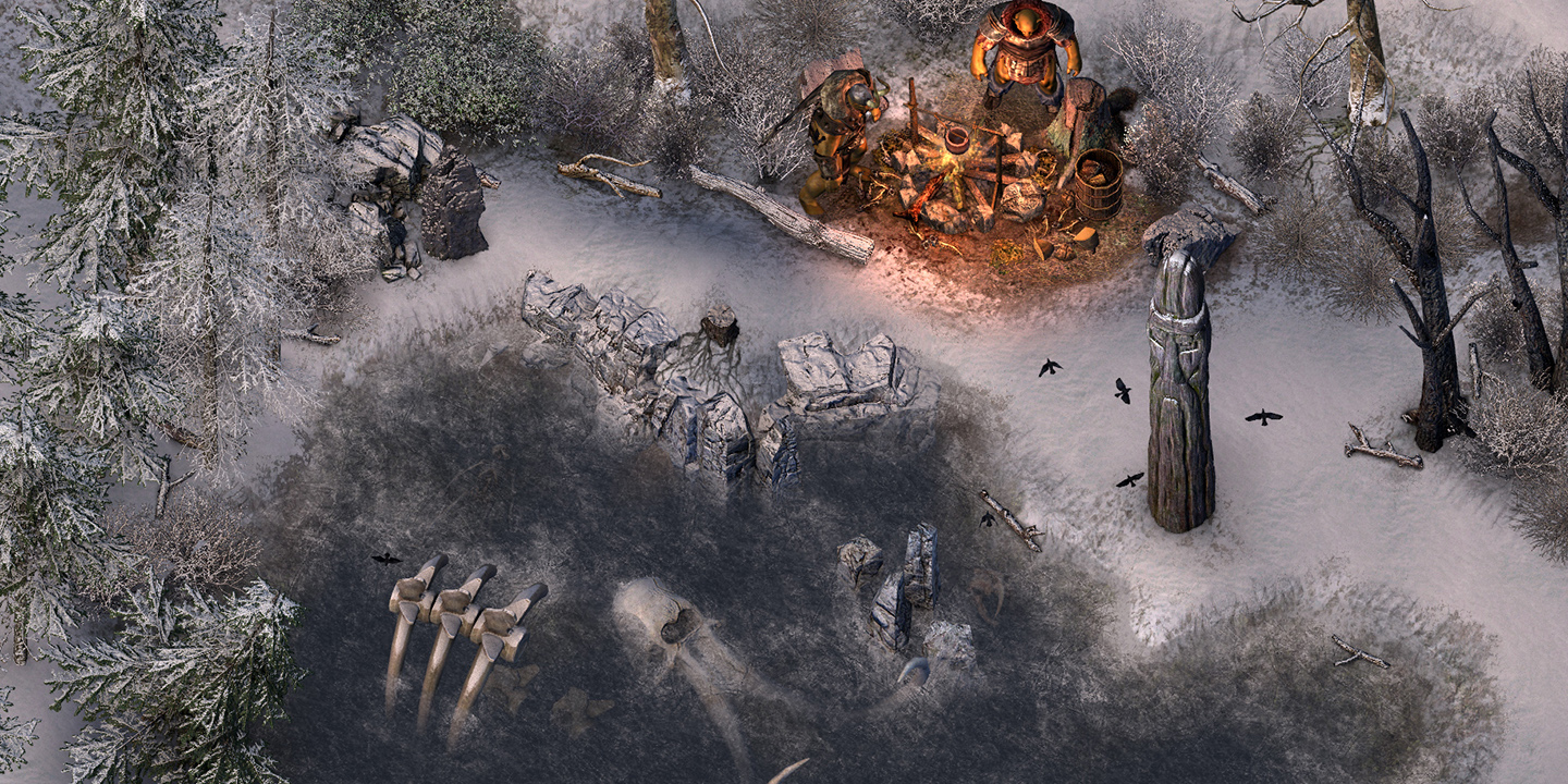 Orcish camp in Kvenland