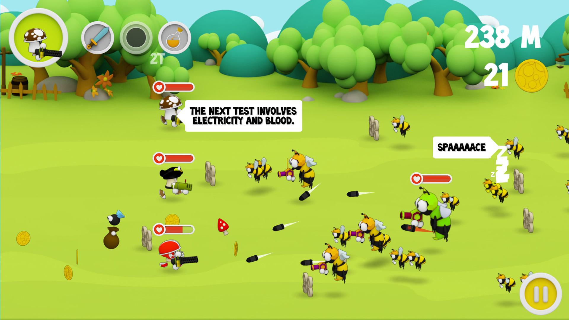 Wacky Spores: The Chase Hills screenshot