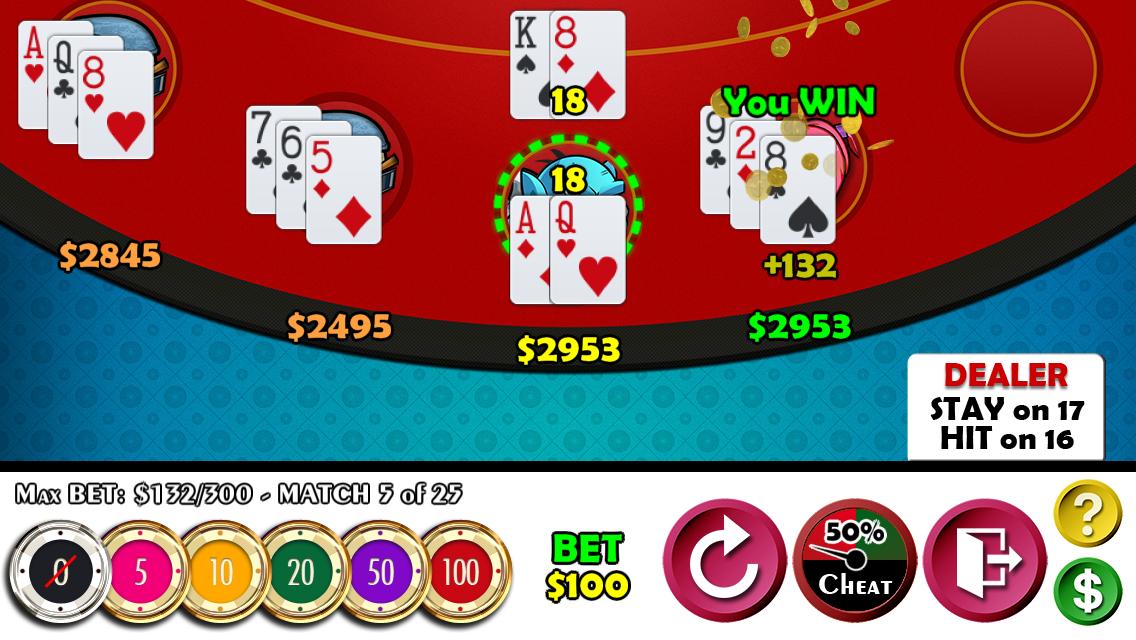blackjack 21 free mod