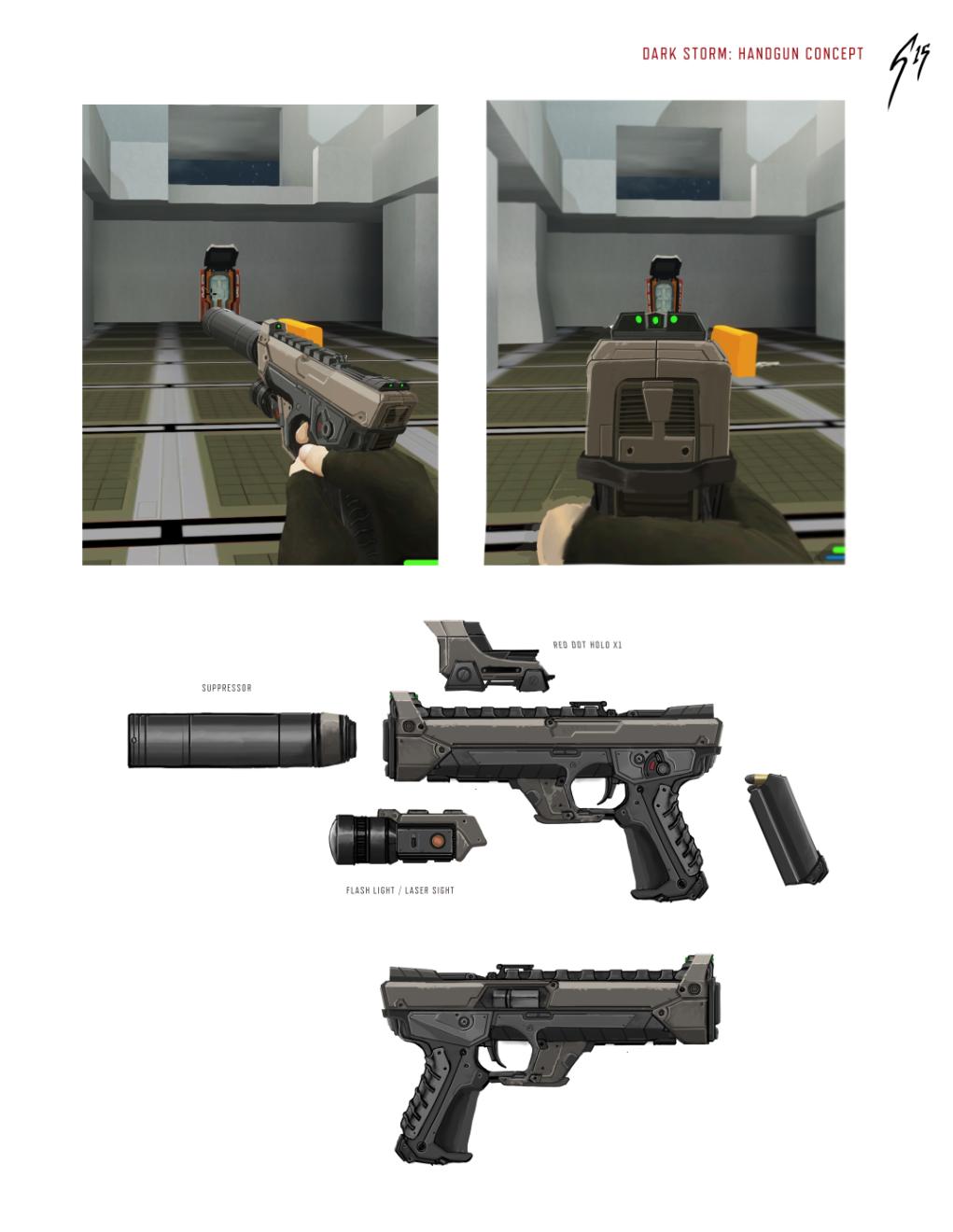 pistol finalized