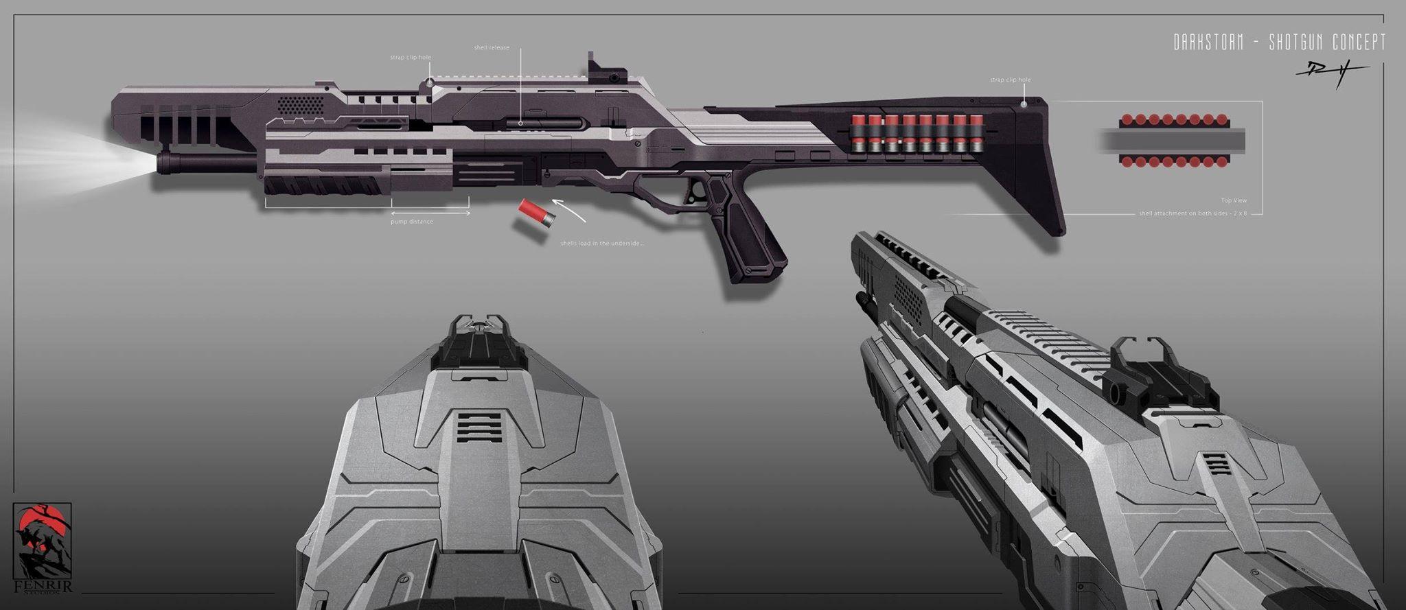 shotgun art