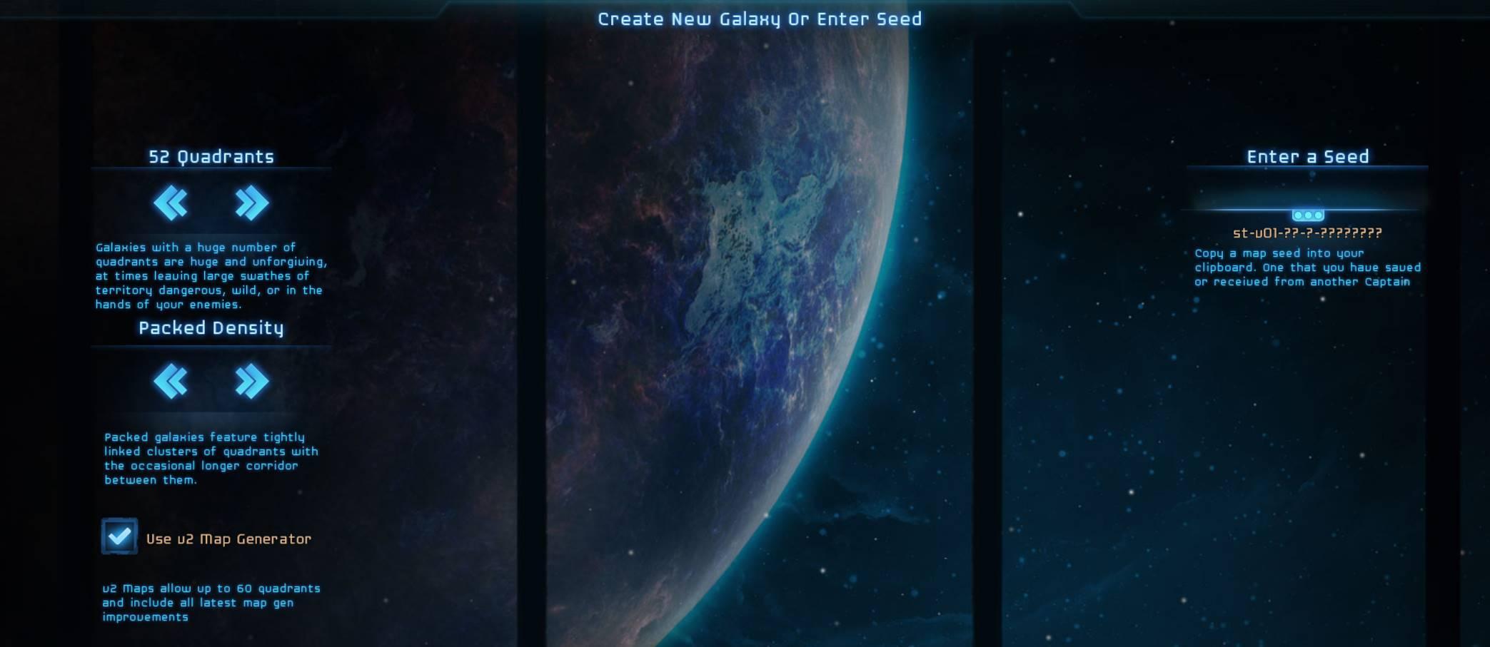V2 Map Creation Screen 1