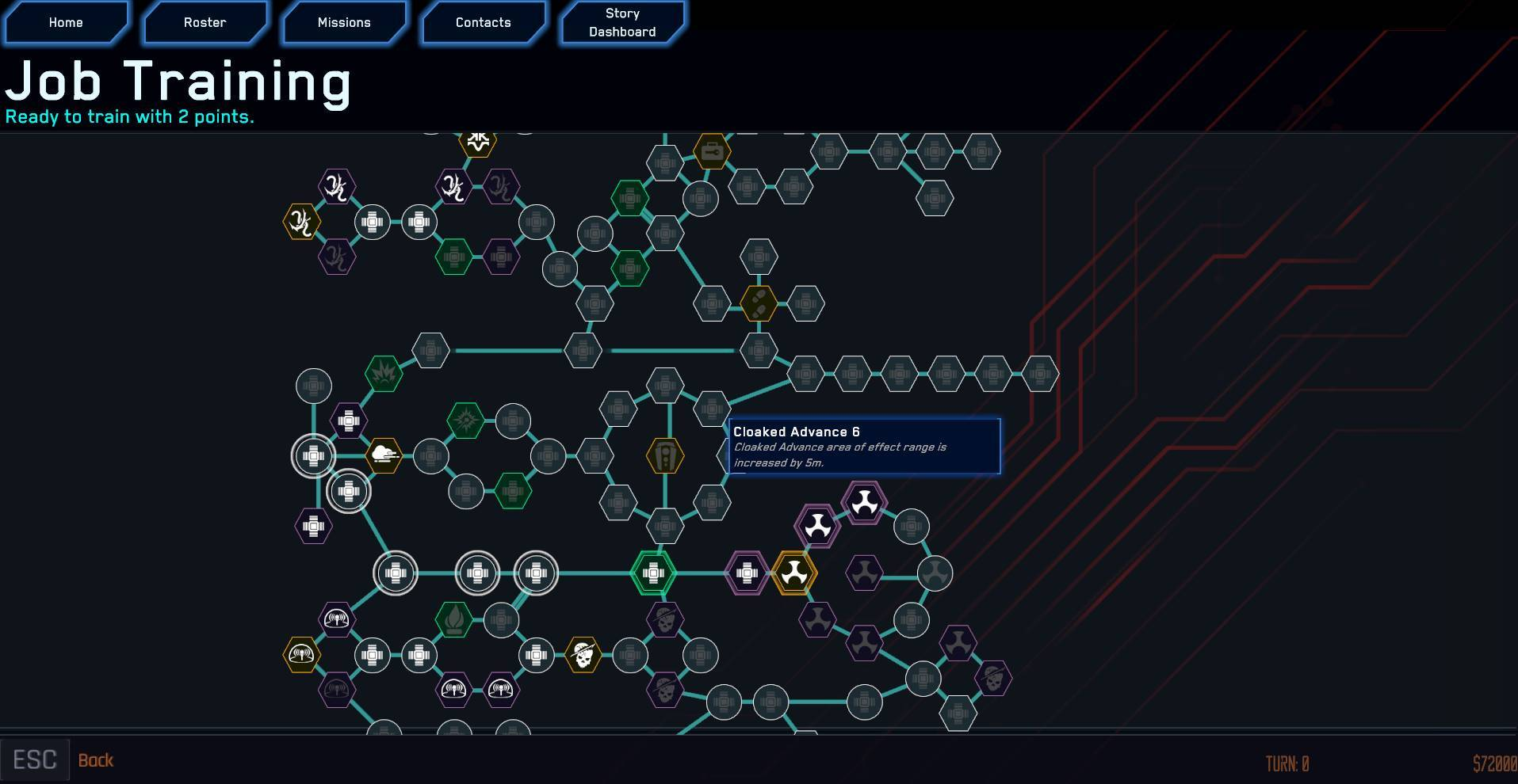 Skill Tree Alpha Preview