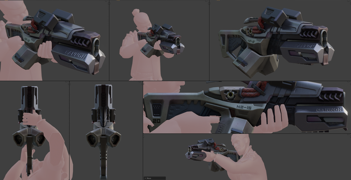 Weapon preview
