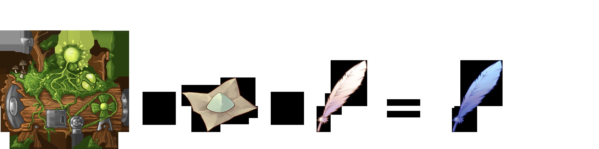 wishing feather