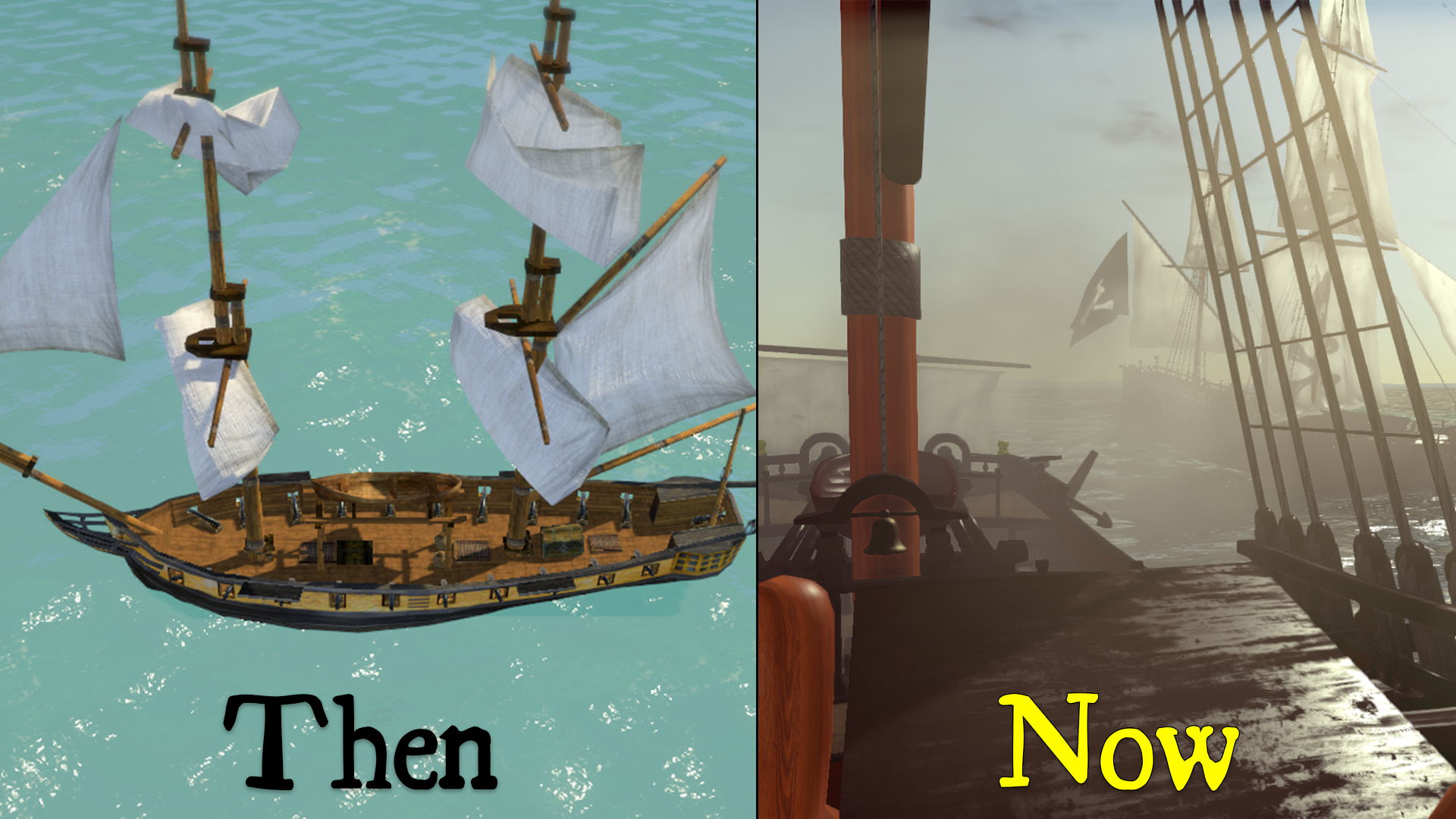 then_and_now_2 Naval Battle Game Comes to Life - End of Year Summary