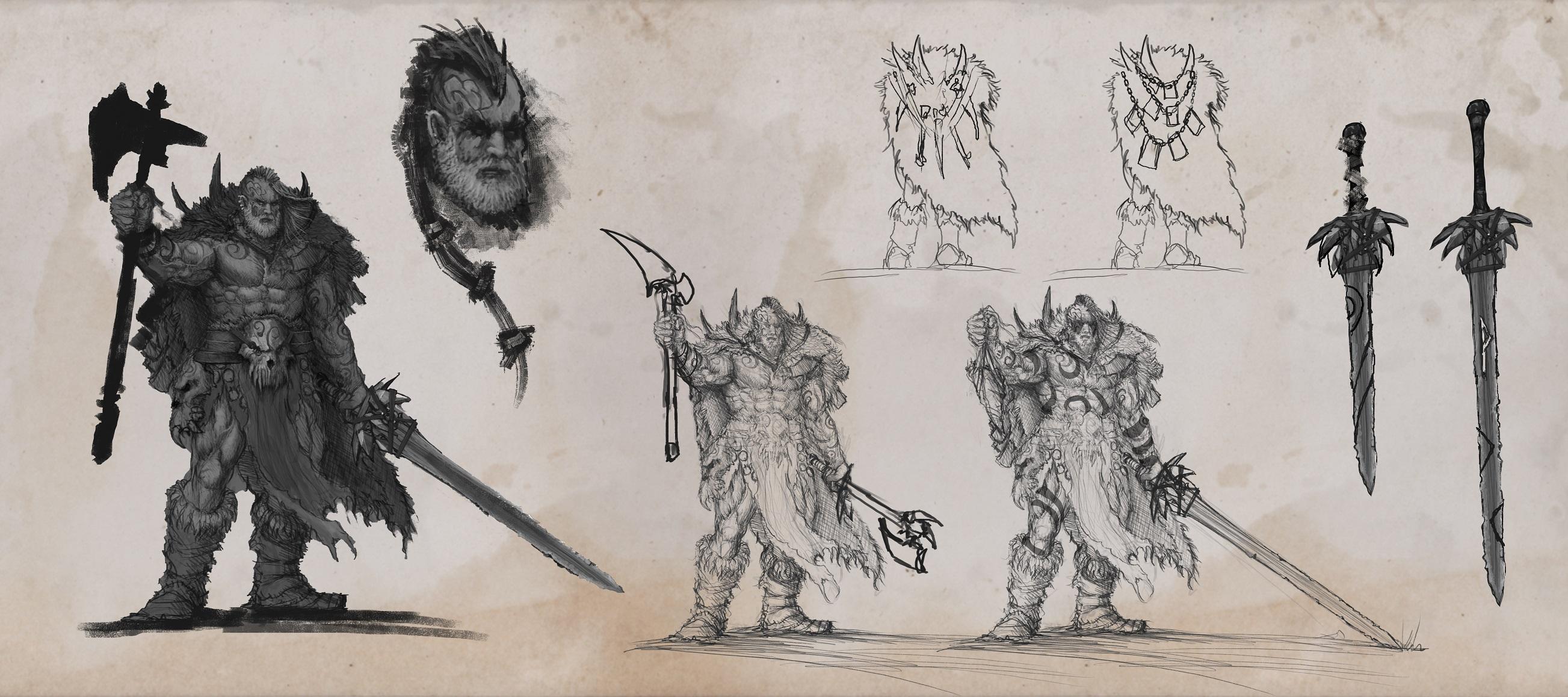 ARNHEIM CONCEPT ART Characters