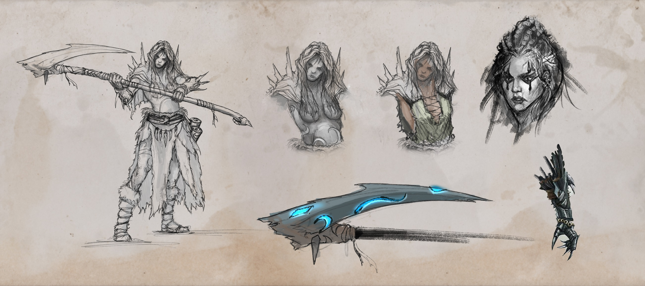 ARNHEIM CONCEPT ART Characters 2