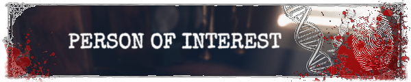Persons Of Interest   Announceme
