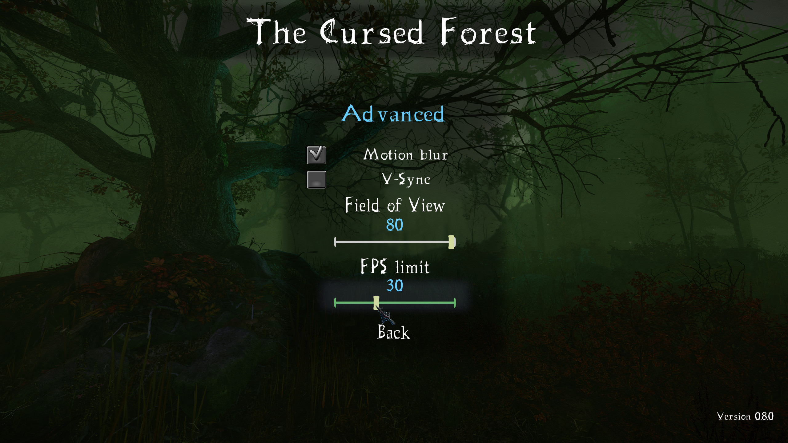 The Cursed Forest MM FPSlimit 2k