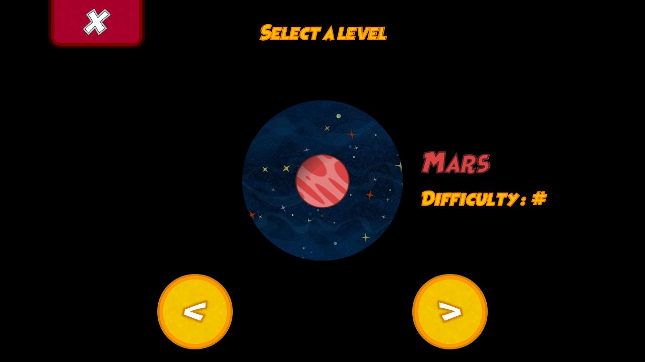 Screen Mars LEvel