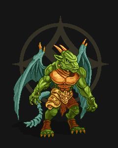 dragon man pixeling1