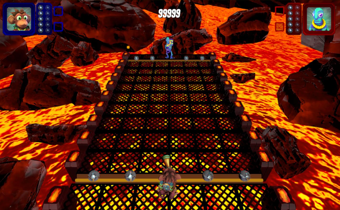 Volcano scenario