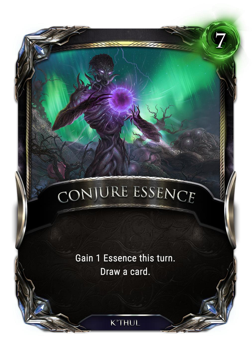 Conjure Essence card