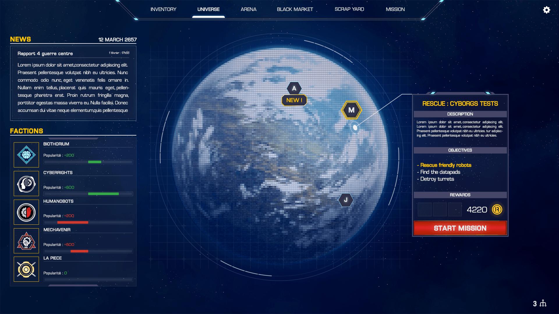 Robothorium UI Mission4