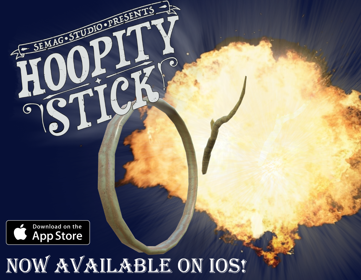Hoopity Stick available on iOS