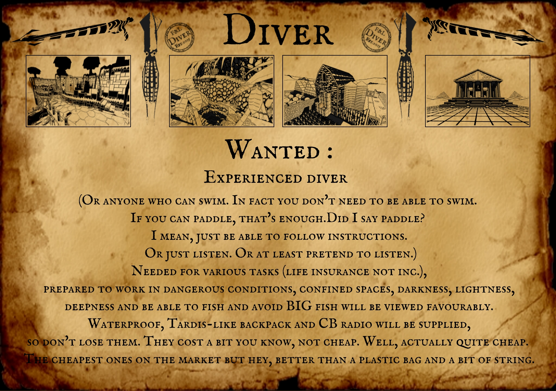 Diver details IndieDB