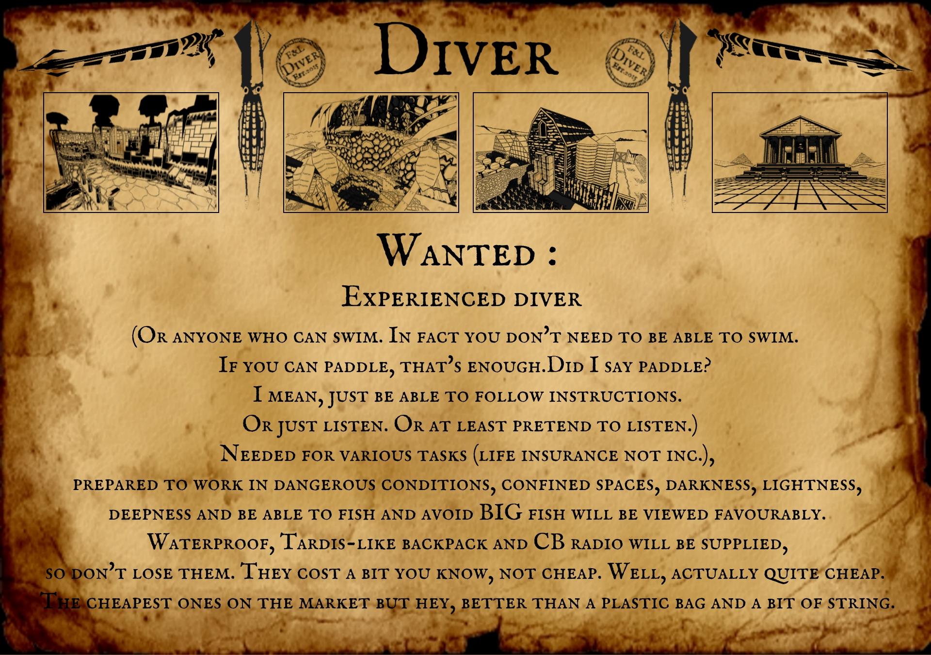 Diver details IndieDB