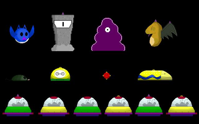 All demo enemies