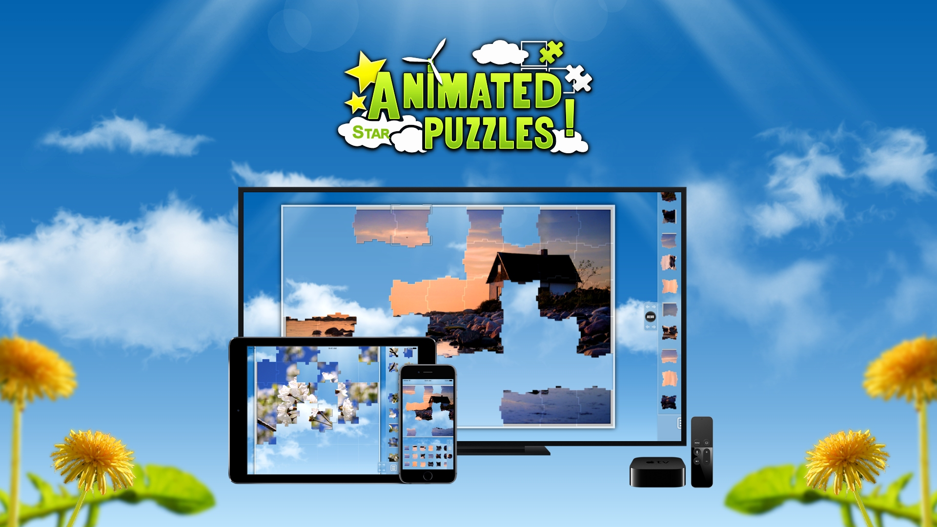 Animated Puzzles for iOS