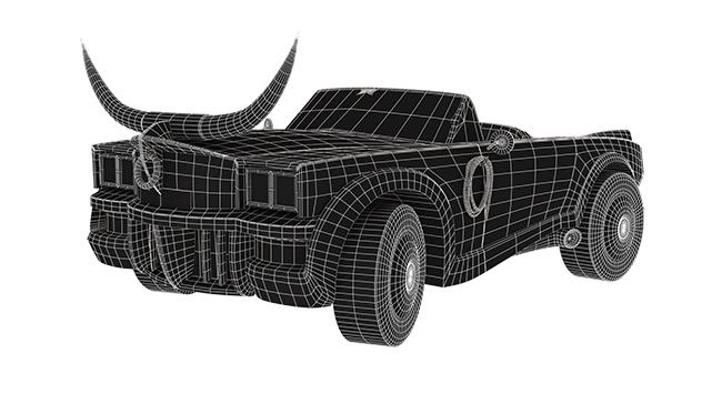3D mesh