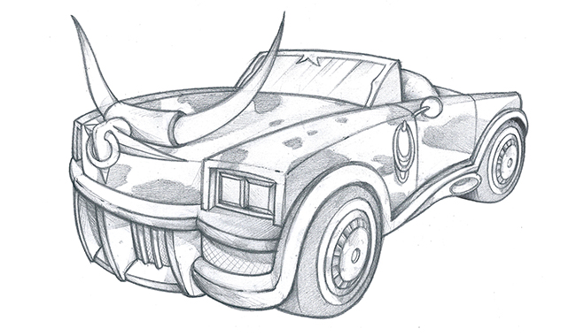 complete sketch