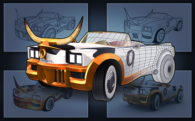 five steps do skins for racing games