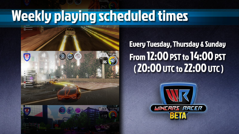 playing scheduled times web