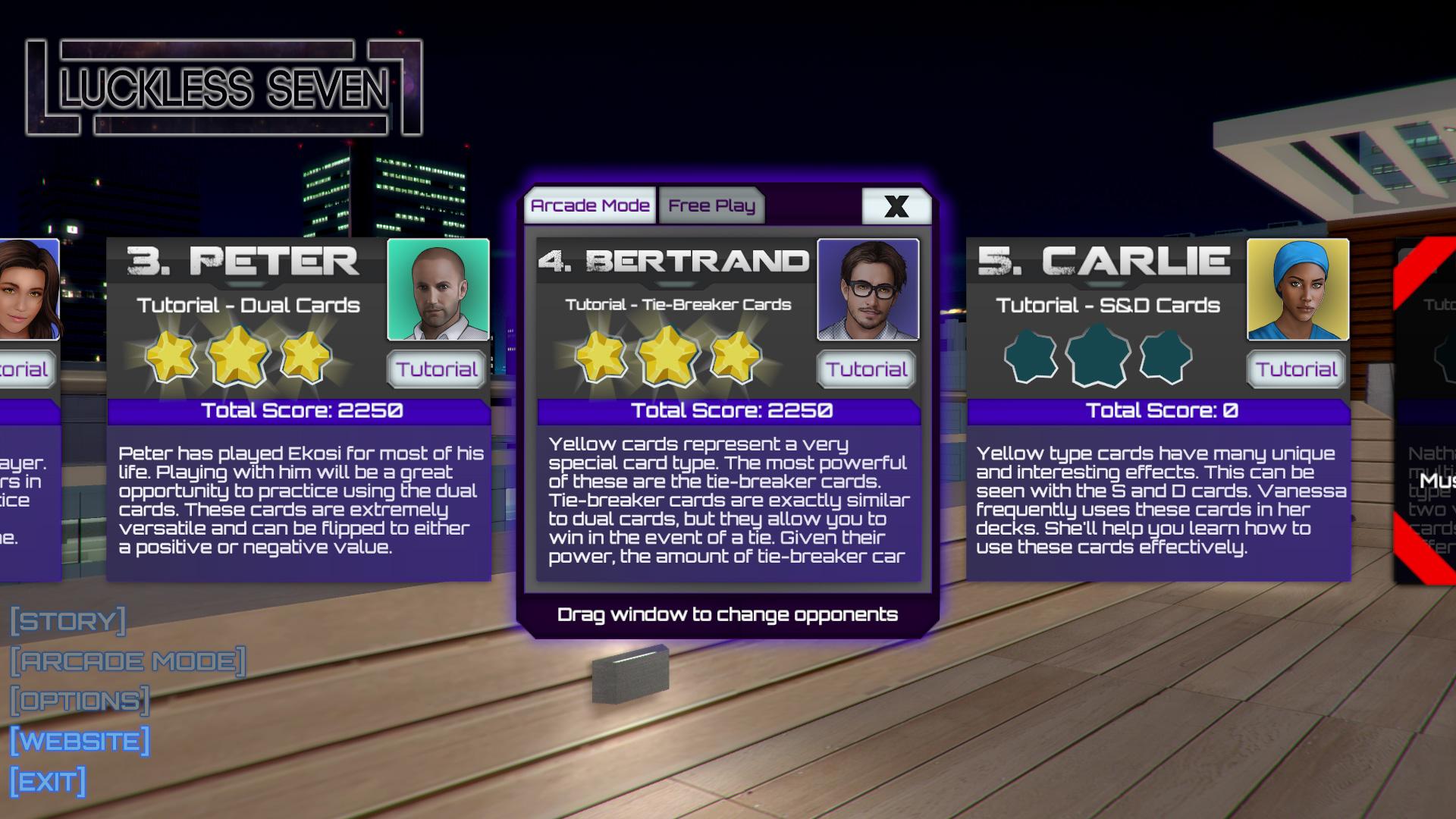 City 2 Preview Luckless Seven Arcade Mode