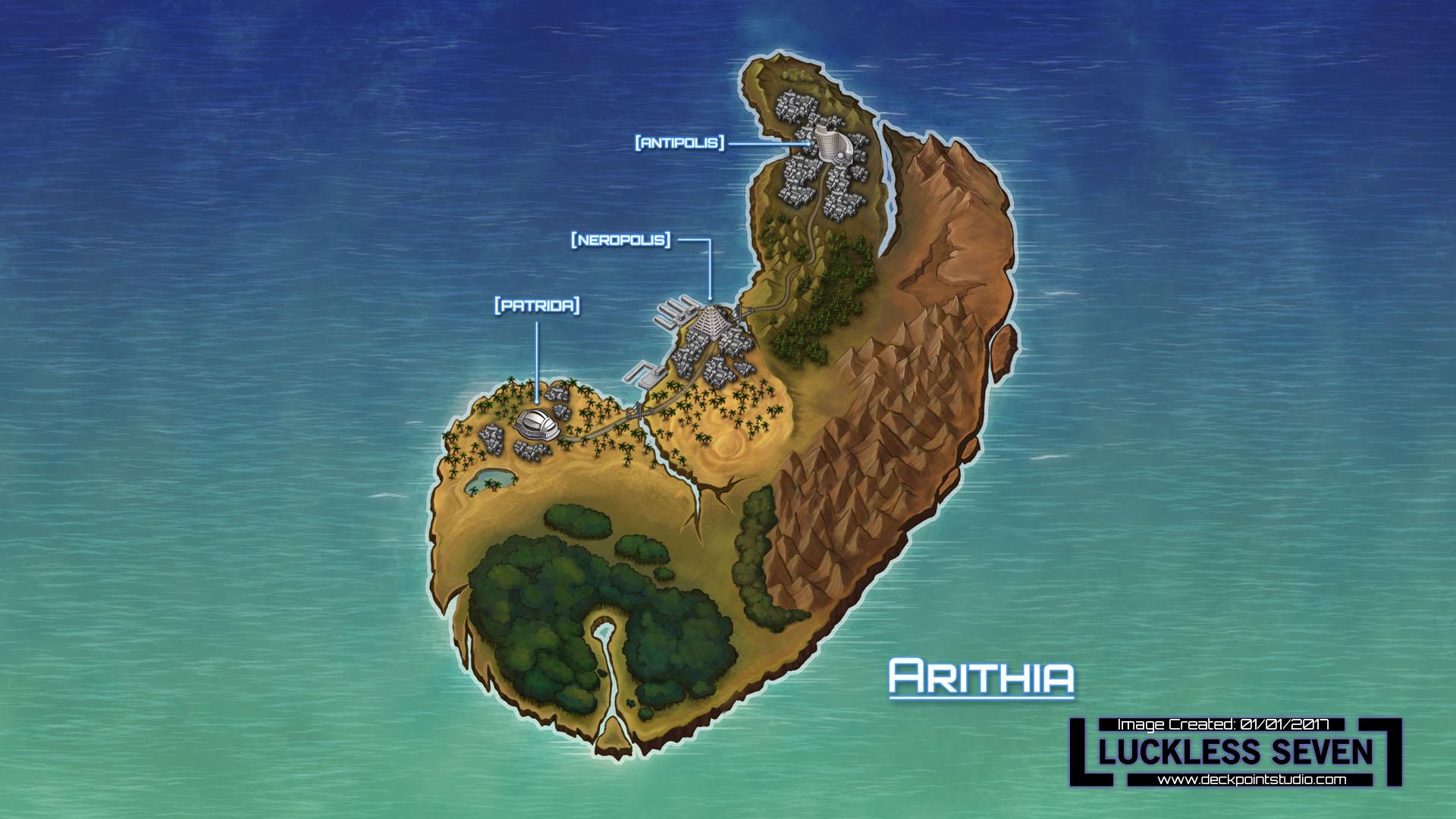 ArithiaMap16 9 Names