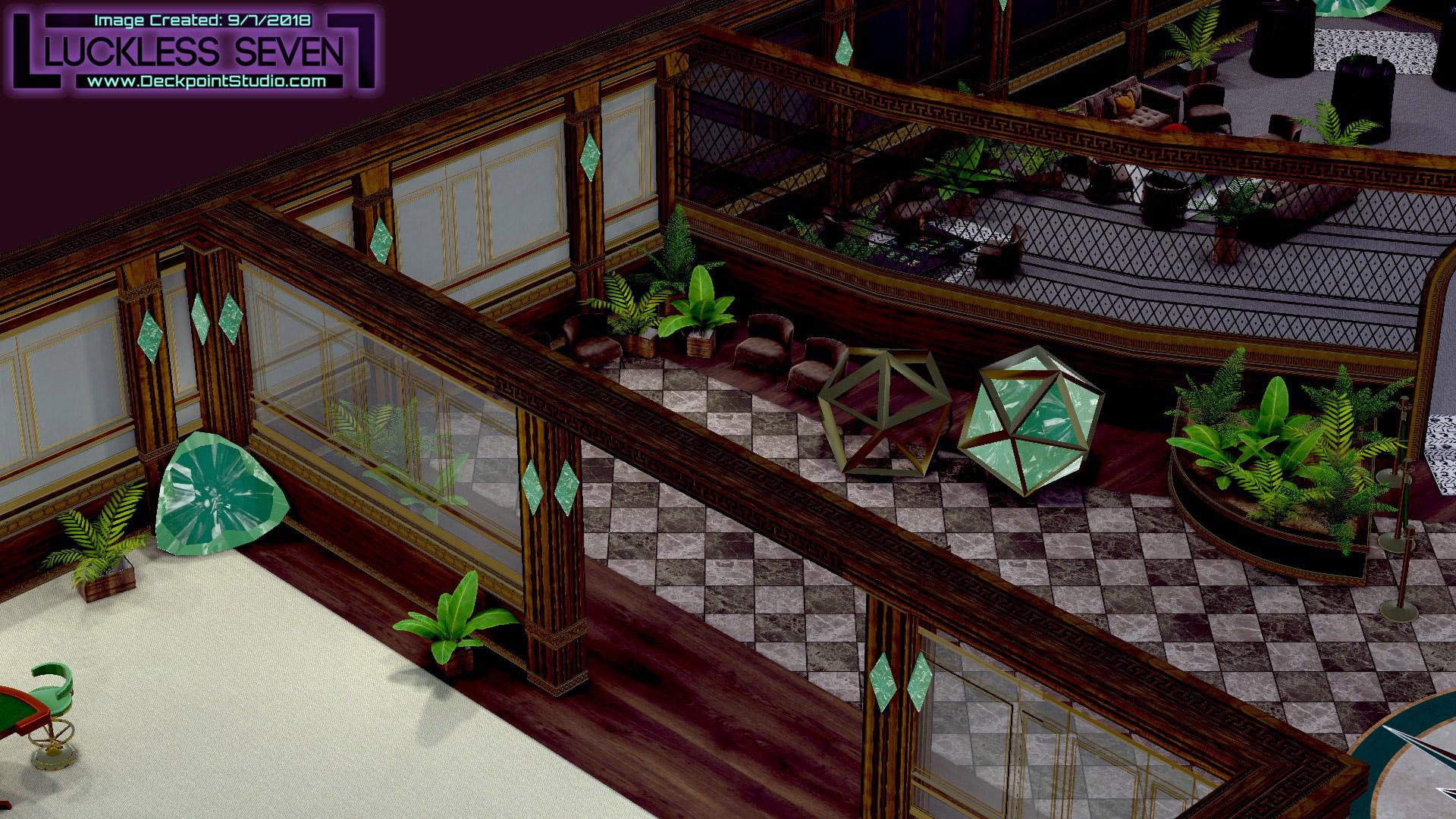 Emerald Casino Interior Luckless 3