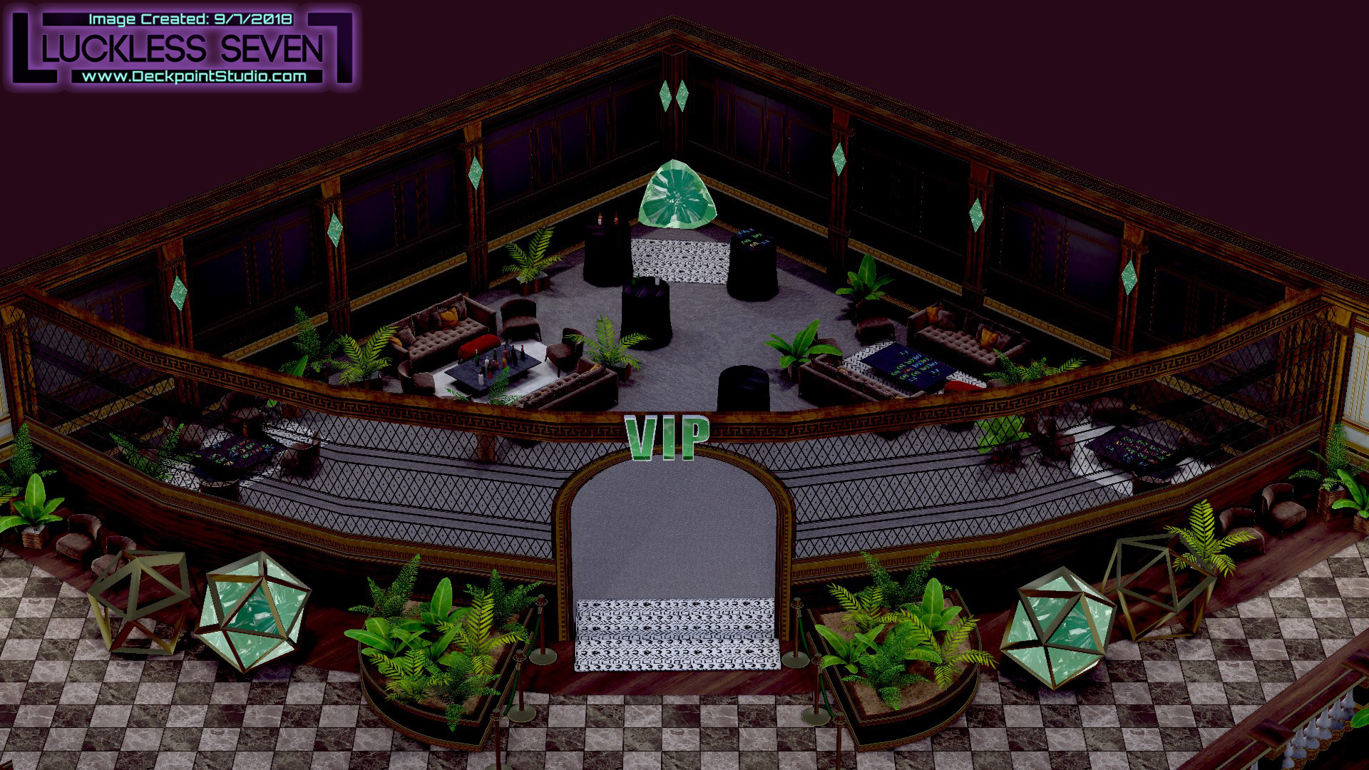 Emerald Casino Interior Luckless 4