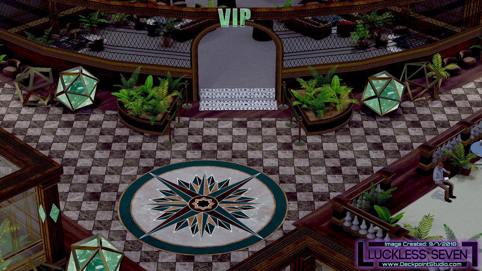 Emerald Casino Interior Luckless 5