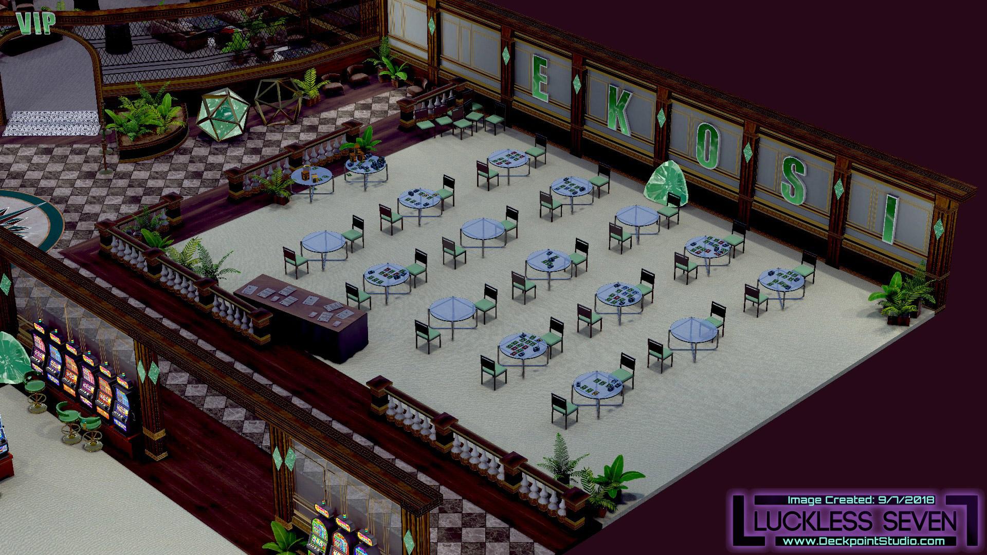 Emerald Casino Interior Luckless 6