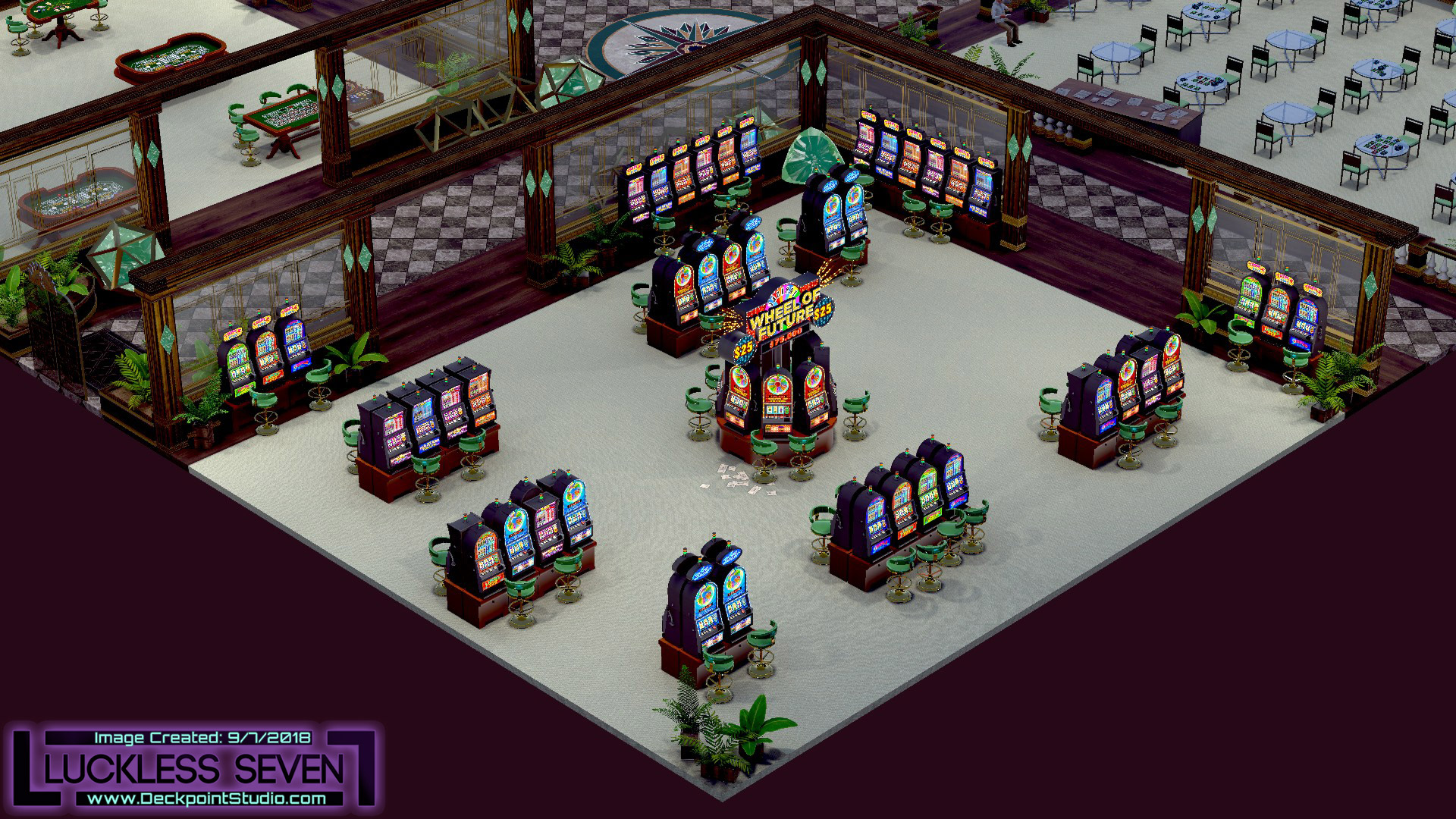 Emerald Casino Interior Luckless