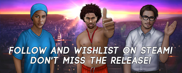 Follow and Wishlist on Steam Don