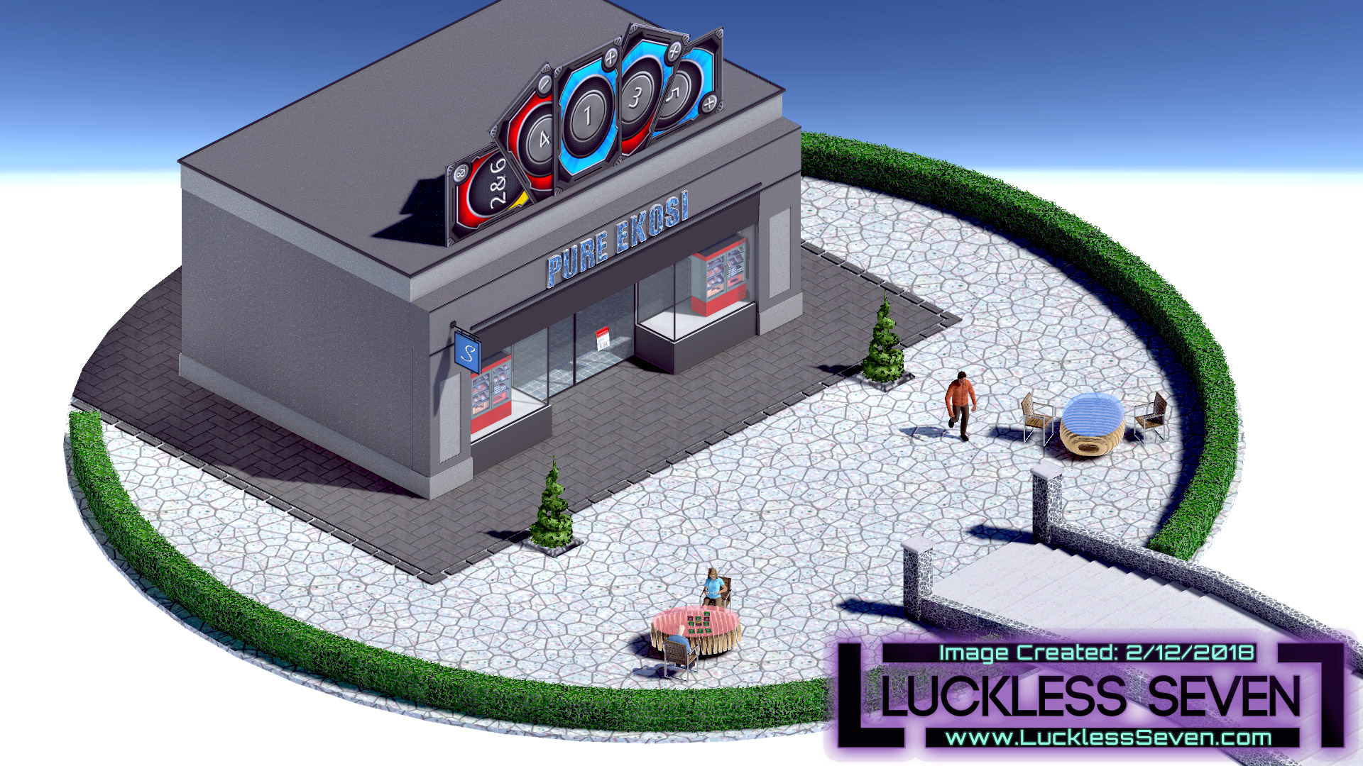 Luckless Seven Amethyst Casino E 2